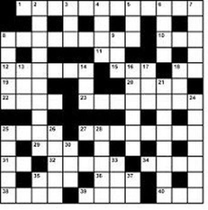 Pandemic Crossword